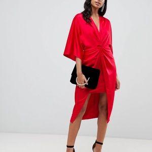 NWT ASOS Kimono Midi Dress, Size 6